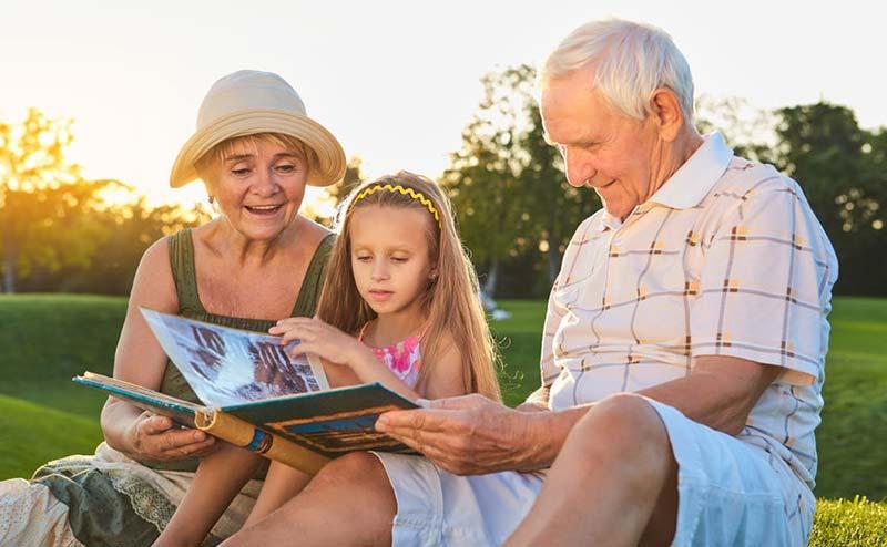 Sparen voor kleinkind